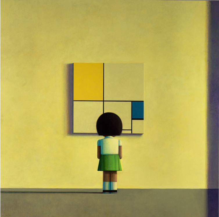 Mondrian in the Morning, 2000