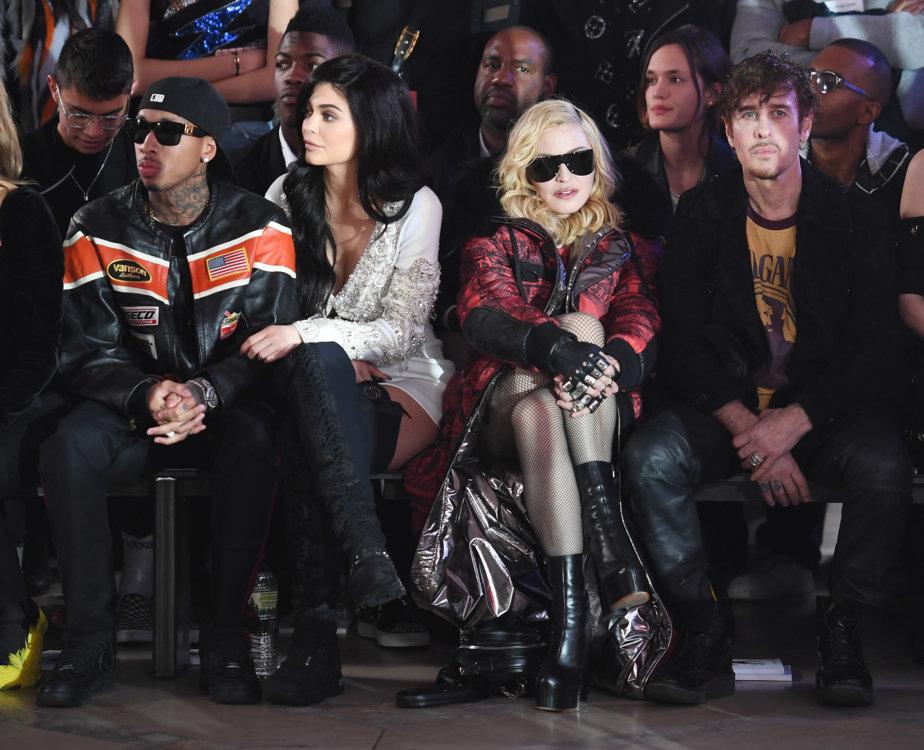 Tyga, Кайли Дженнер и Мадонна