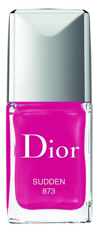 Лак для ногтей с эффектом геля Dior Vernis, лимитированное издание, №800 Sudden
