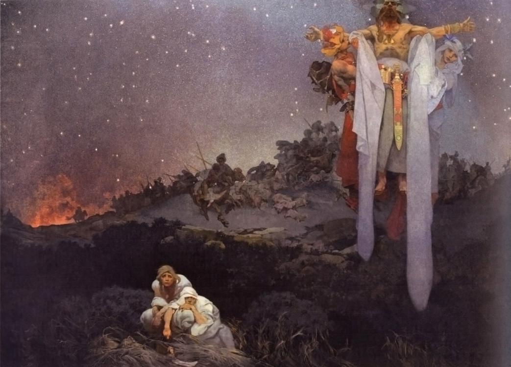 «Славяне на своей земле», 1912