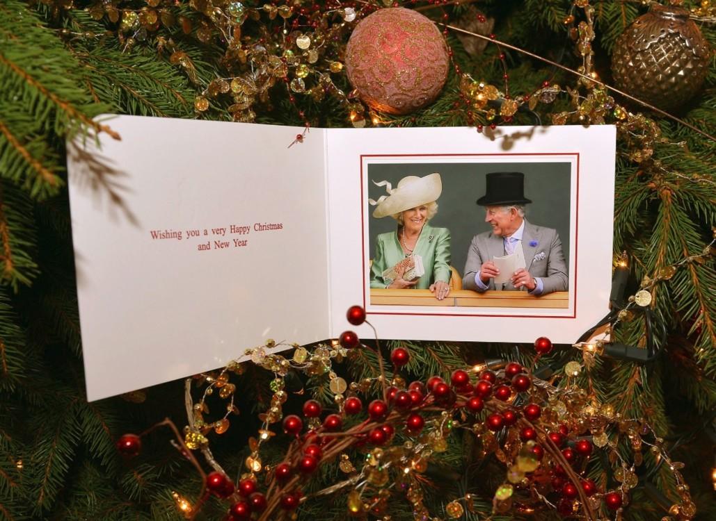 Рождественская открытка Камиллы и Чарльза, 2013