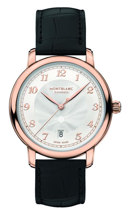 Часы Star Legacy, механизм с автоподзаводом, функция даты, корпус из розового золота, Montblanc