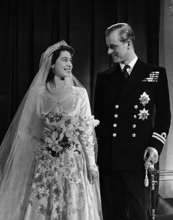 Королева Єлизавета II і принц Філіп, 20 листопада 1947