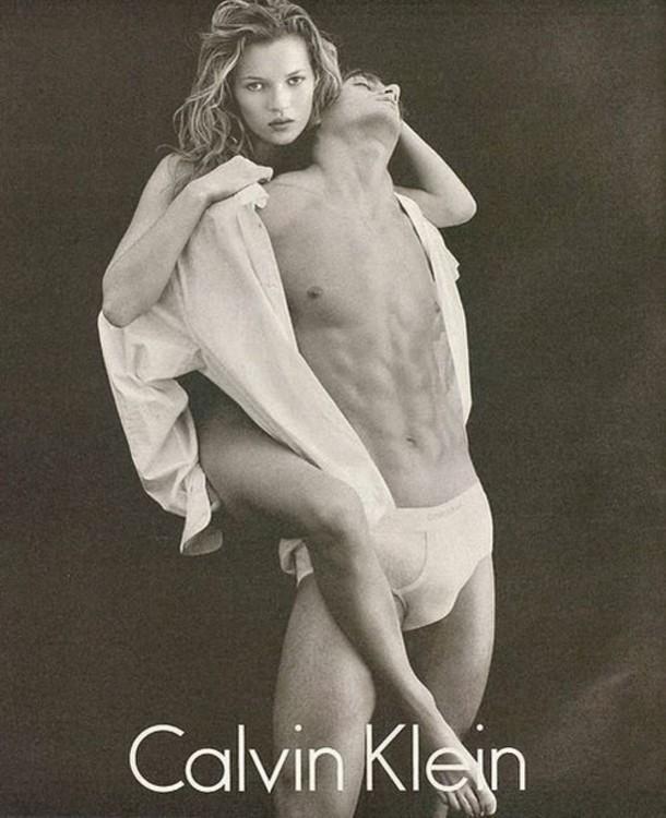 Кейт Мосс для Calvin Klein Underwear