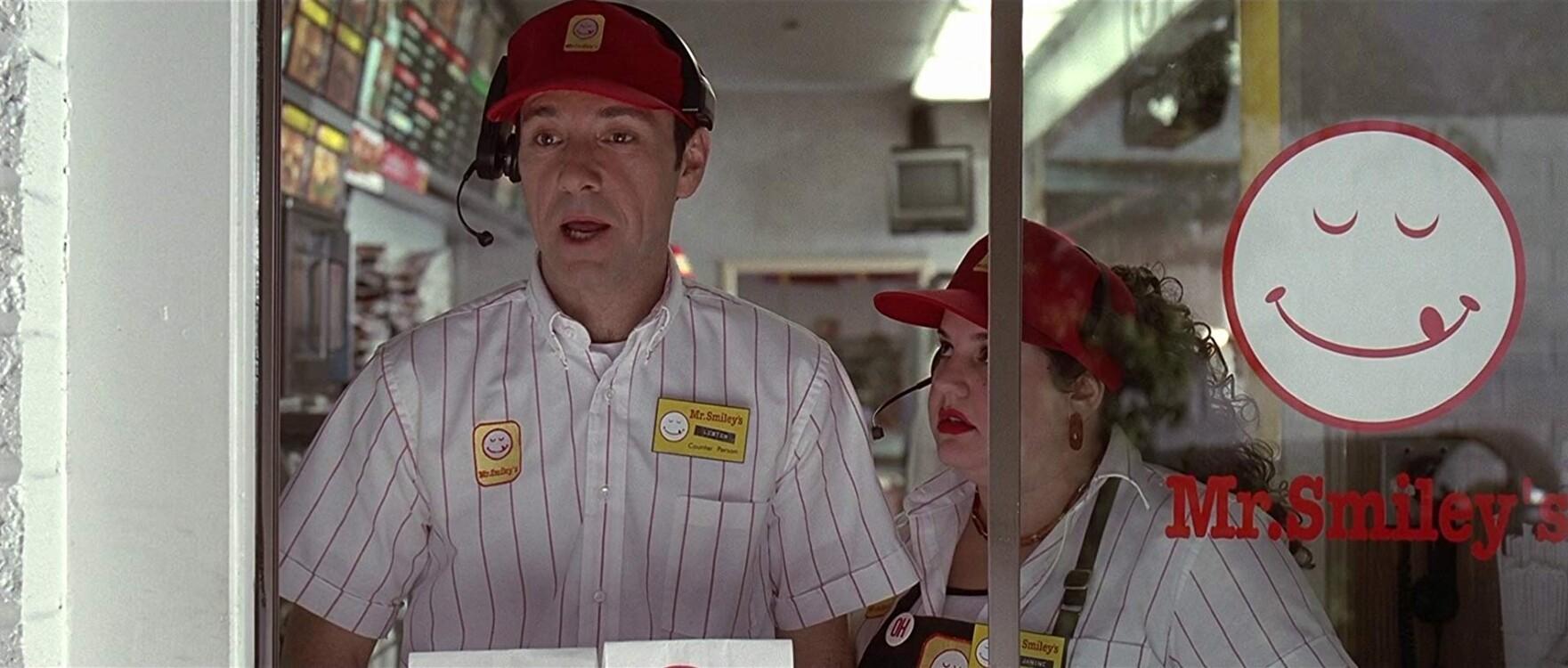 Кевін Спейсі у фільмі «Краса по-американськи», 1999