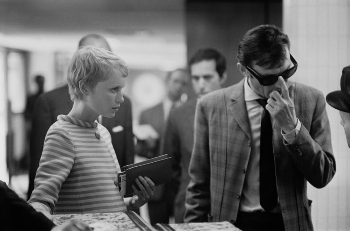 Миа Фарроу и Лоуренс Харви, 1967