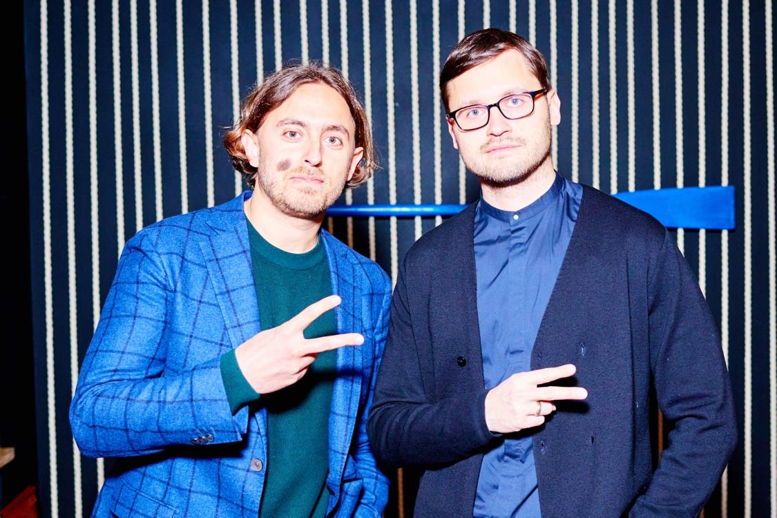 Александр Верник и Владимир Усов