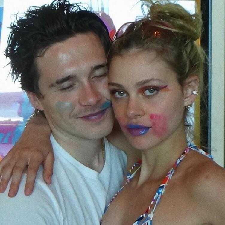Бруклин Бекхэи и Никола Пельтц (фото) фото