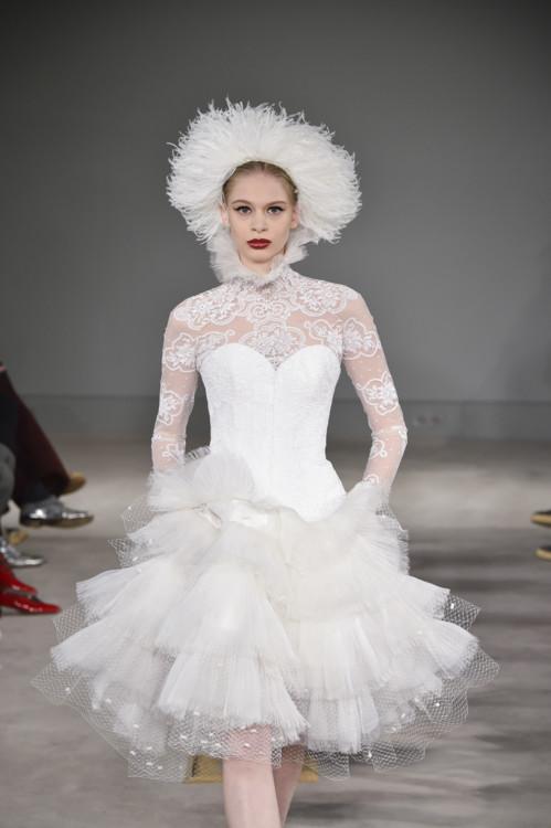 Елісава Кравченко на шоу Alexis Mabille Couture весна-літо 2020