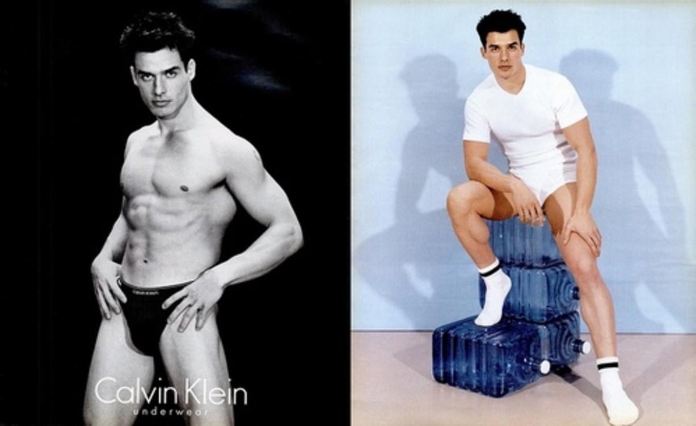 Calvin Klein Underwear весна-лето 1996