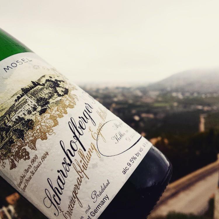 Вино Egon Müller Scharzhofberger @blind_tasting_club_blog