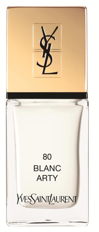 Лак La Laque Couture №80 Blanc Arty, YSL Beauty
