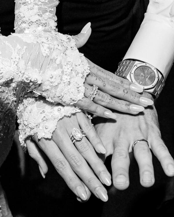Обручальное кольцо Хейли Бибер