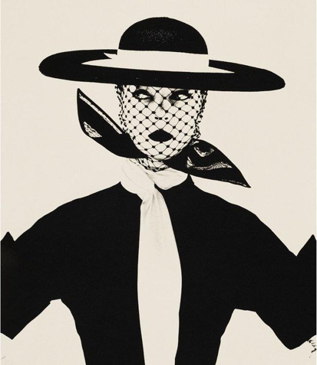 Фото для обложки британского Vogue, 1950 © La Presse