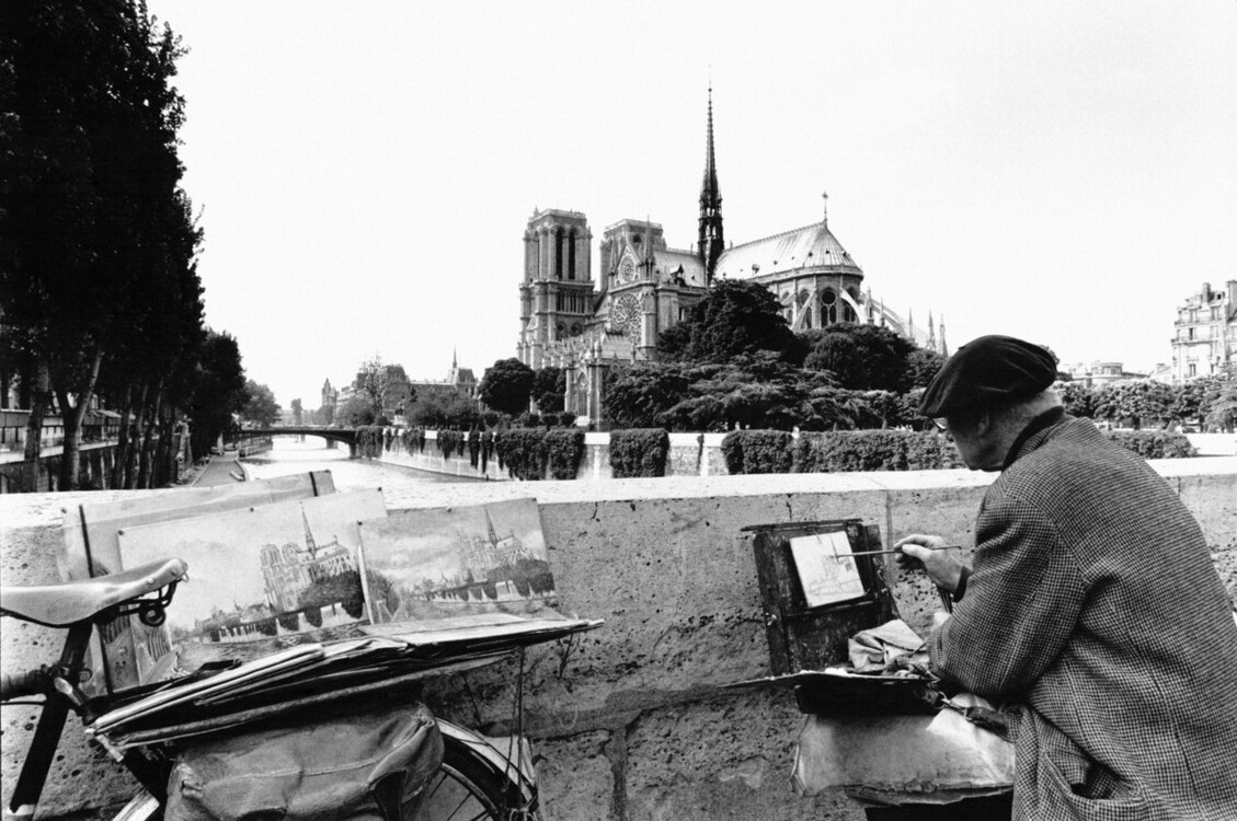 Художник на мосту Архиєпархії
