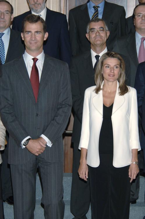 Король Филипп и королева Летиция (Испания)