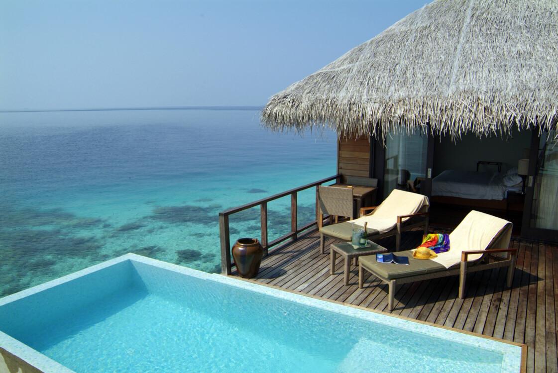 """""""Escape Water Villa"""" на курорте Coco Bodu Hithi Maldives"""