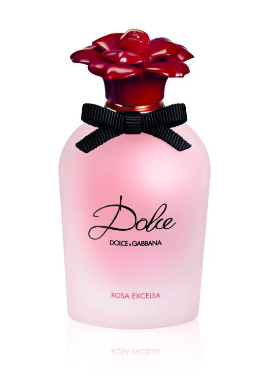 Dolce Rosa Excelsa, Dolce&Gabbana с нотами роз, обрамленных белыми цветами и мускусом