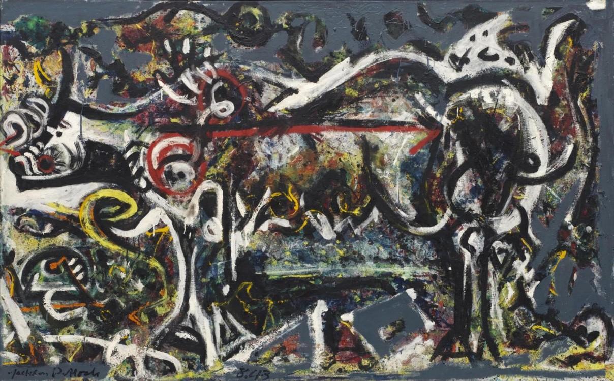 «Вовчиця», 1943 (Нью-йоркський музей сучасного мистецтва)