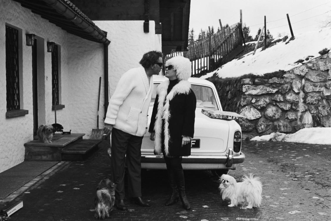 Річард Бартон і Елізабет Тейлор, 1967 рік