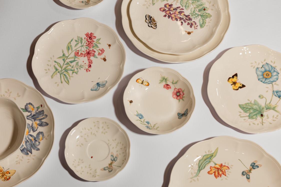 Посуда Lenox, коллекция Butterfly Meadow