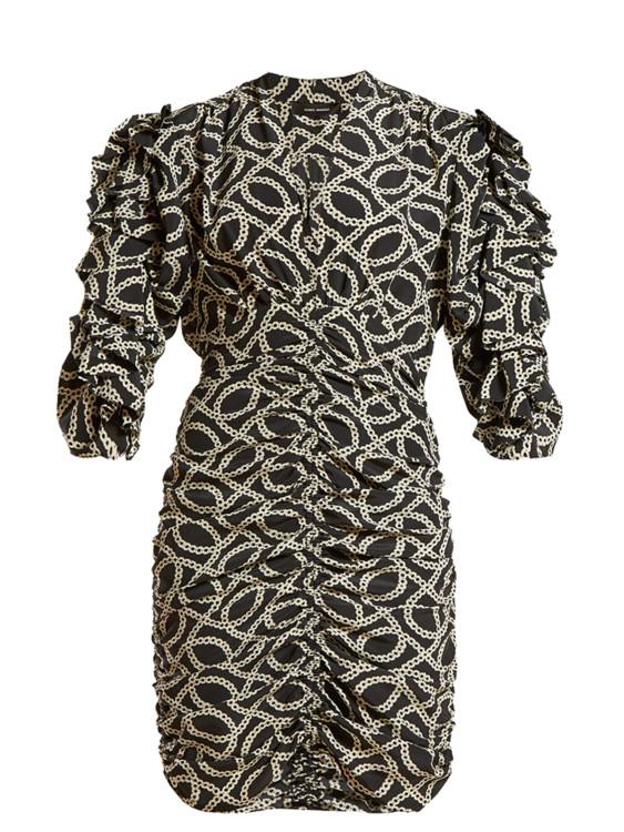 Платье из шелка и эластана, Isabel Marant