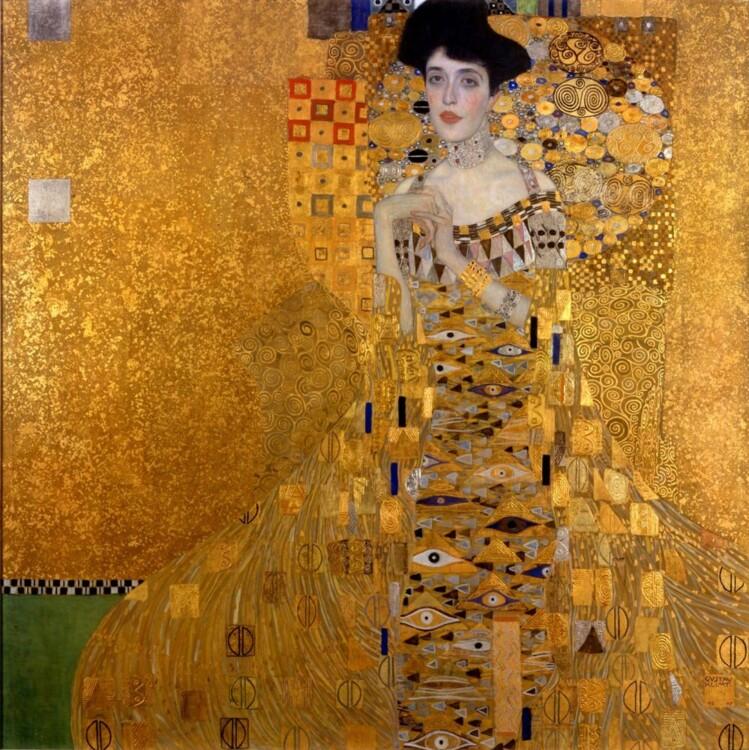 «Портрет Аделі Блох-Бауер I (Золота Адель)», 1907