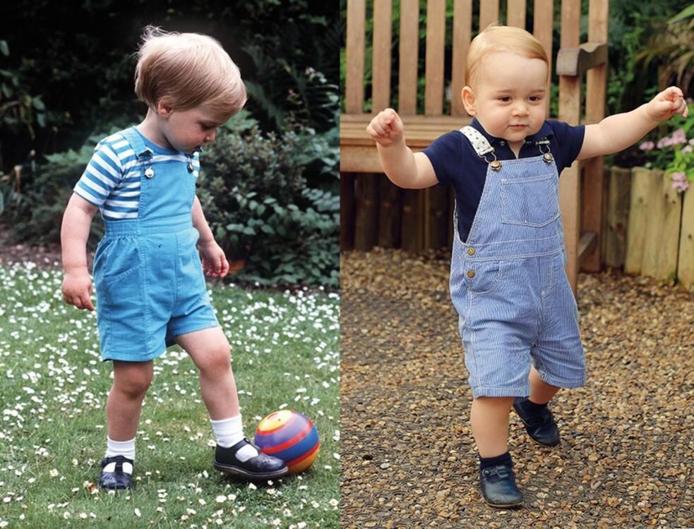 Принц Уильям, 1984 / принц Джордж, 2014