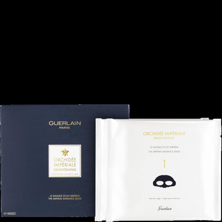 Тканинна маска «Королівське Сяйво» Orchidee Imperiale, Guerlain, з технологією Orchid Noble Light™ і ефектом «кремової ванни» для обличчя