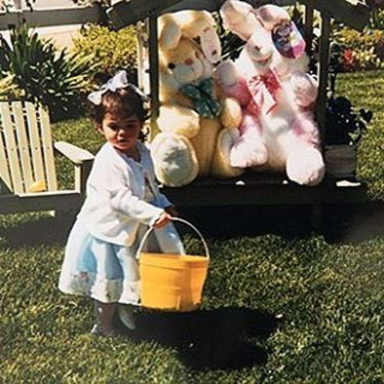 Снимок из детства Кайли Дженнер