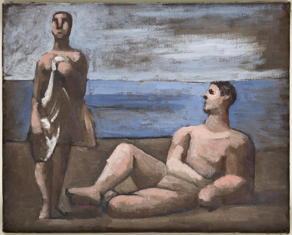 Пабло Пикассо, Deux Baigneurs, 1921 год