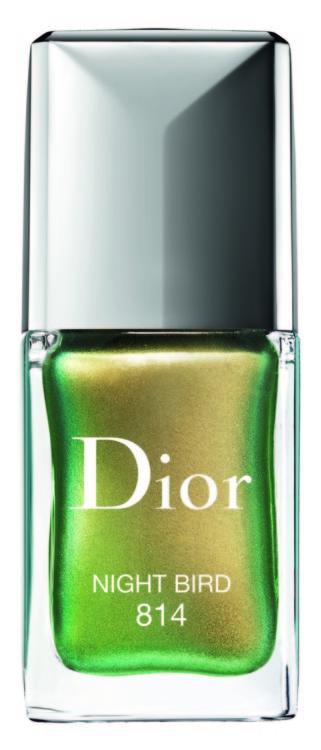 Лак для ногтей Dior Vernis №814 Night Bird из коллекции Birds Of A Feather, Dior