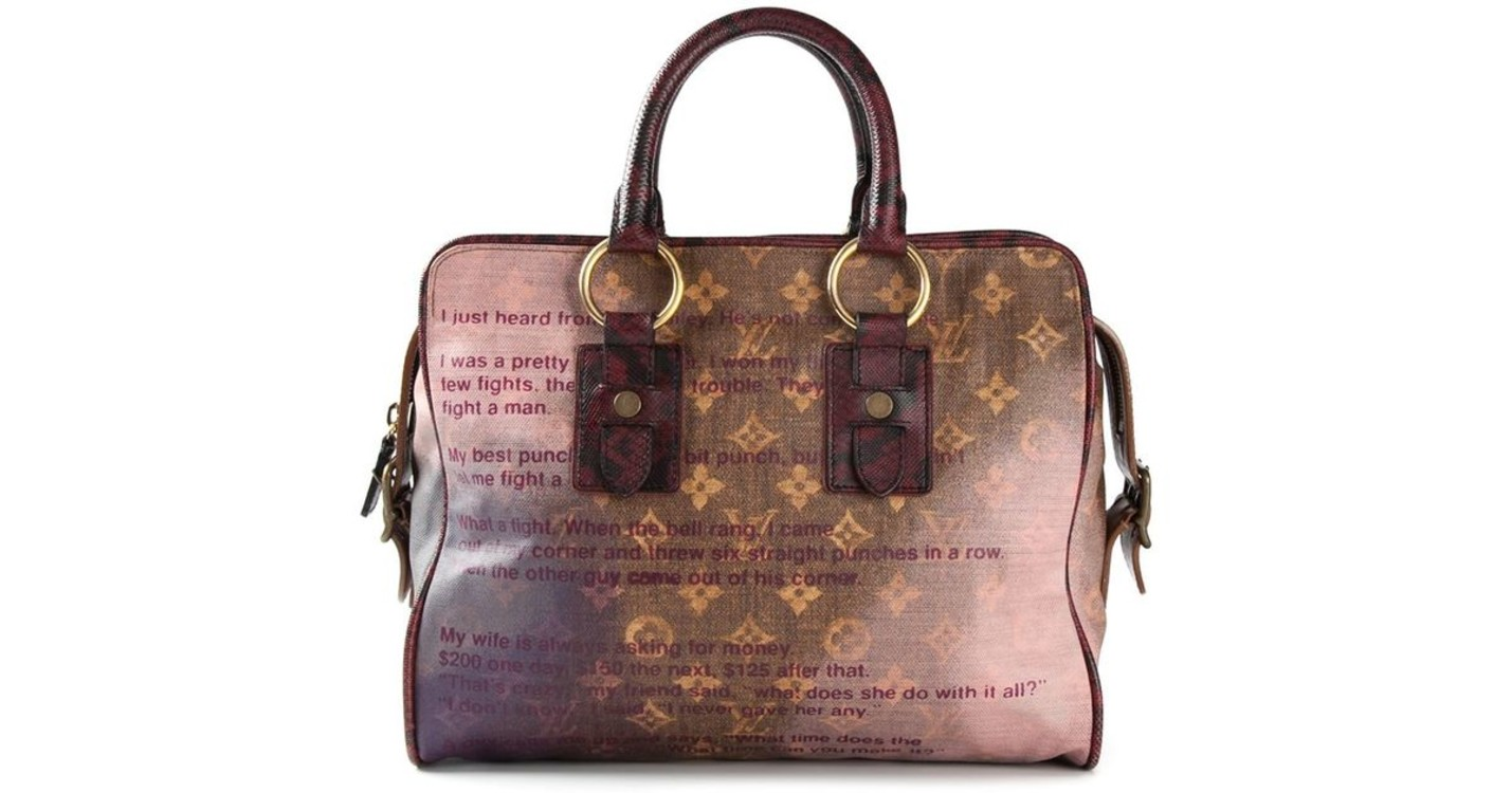 Сумки Louis Vuitton & Richard Prince