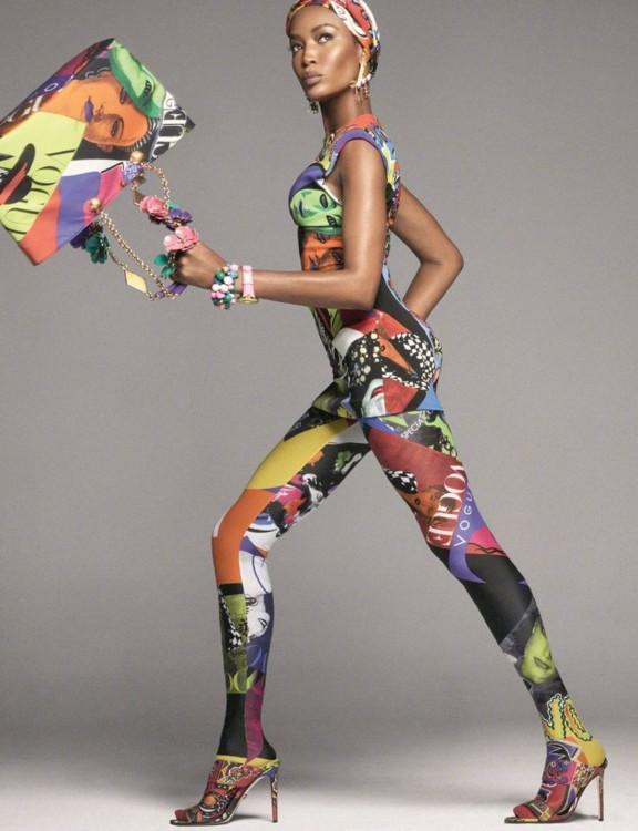 Рекламная кампания Versace весна-лето 2018, фото: Стивен Мейзел