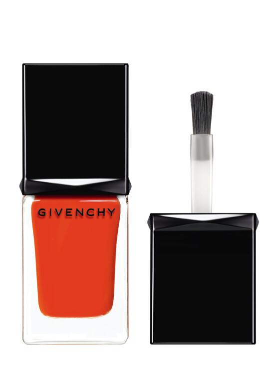 Лак для ногтей Givenchy Le Vernis № 15 Orange из летней коллекции макияжа Solar Pulse, Givenchy