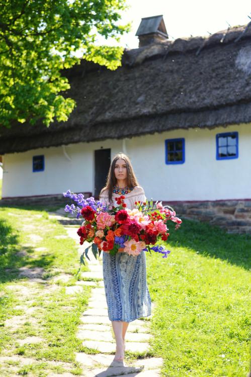 """Літня колекція букетів """"Гестія"""", квіткова майстерня LoraShen"""