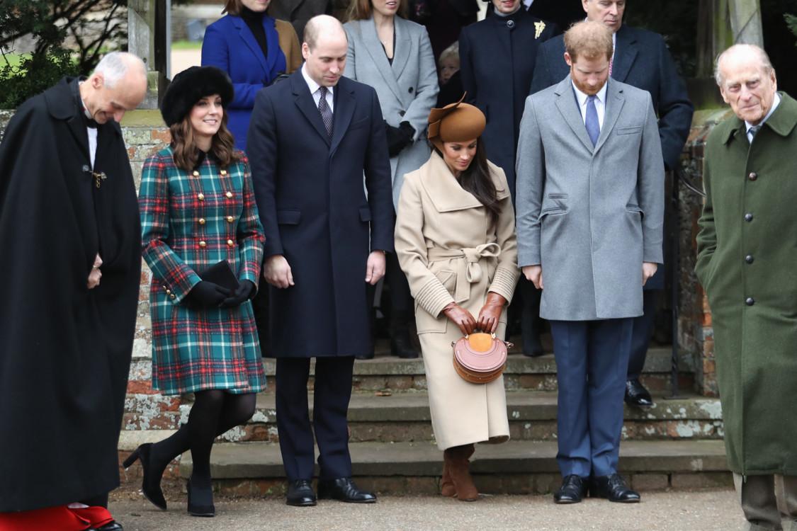 Герцоги Кембриджские, Меган Маркл, принц Гарри, Филипп, герцог Эдинбургский