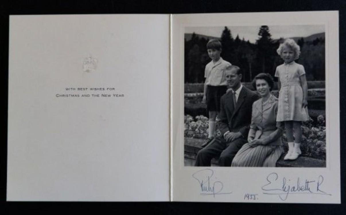 Британская королевская семья, 1955