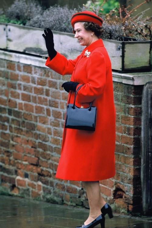 Єлизавета II, 25 грудня 1984 р.