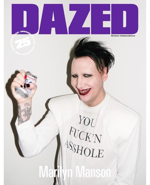 Обложка юбилейного номера Dazed Magazine
