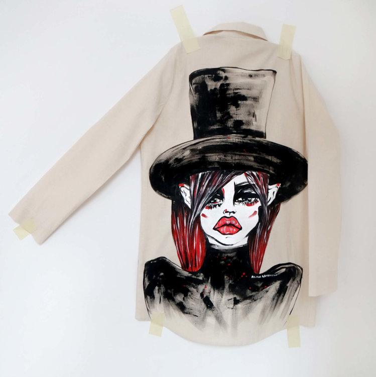 Рубашка Alina Zamanova 'Art Bitch'