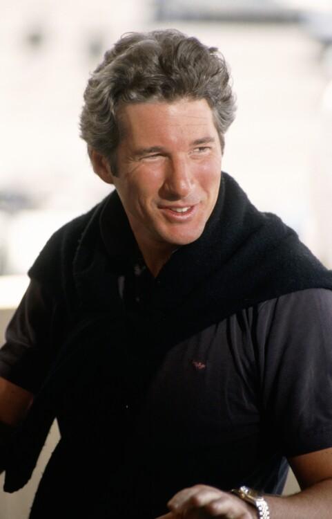 Ричард Гир на Каннском кинофестивале, 1988