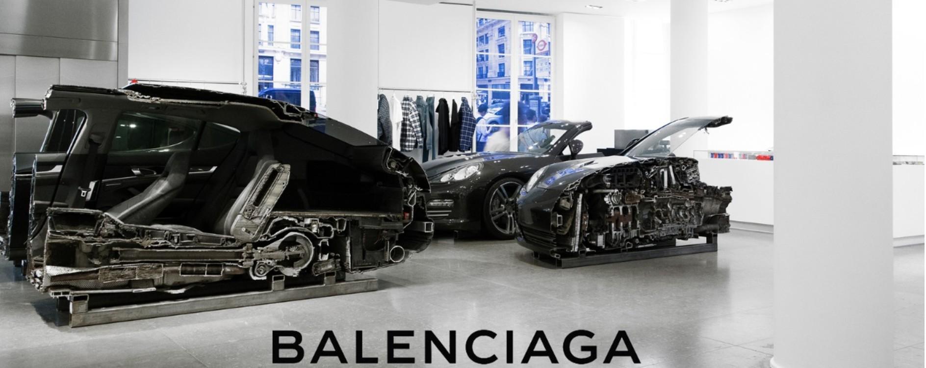 Инсталляция Balenciaga июль 2017