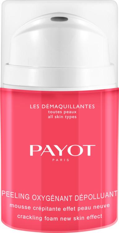 Пенка-пилинг Peeling Oxygénant Dépolluant, Payot. В составе: АНА-кислоты малины, черники, апельсина и лимона