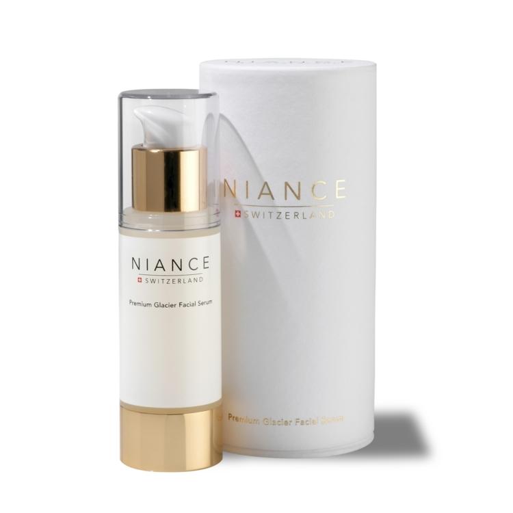 Омолаживающая сыворотка для сохранения упругости кожи Premium Glacier Facial Serum, Niance