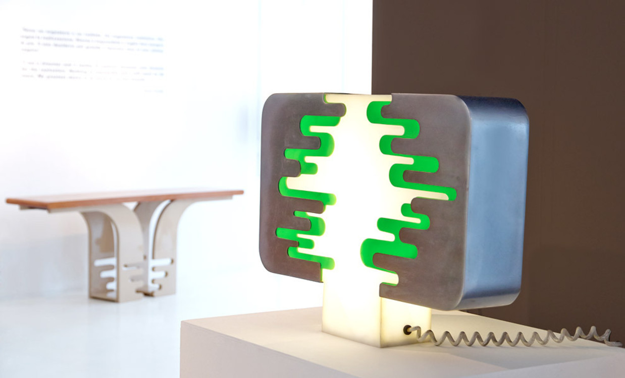 Pierre Cardin, выставка Les Sculptures Utilitaires, Milan Design Week