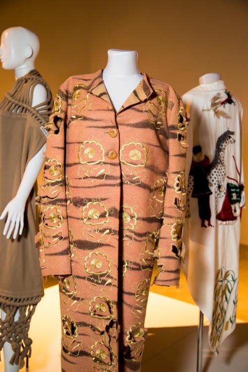 Оксана Караванская, пальто, 2005
