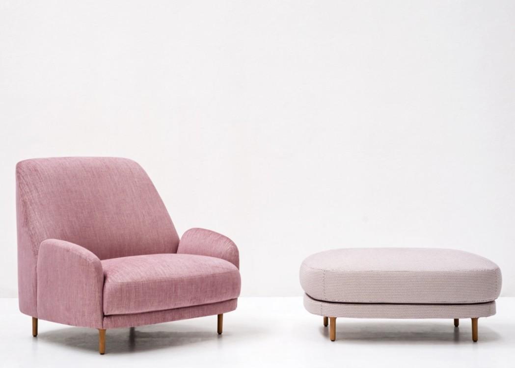 Кресло Santiago для Tacchini, созданное шведской студией Claesson Koivisto Rune