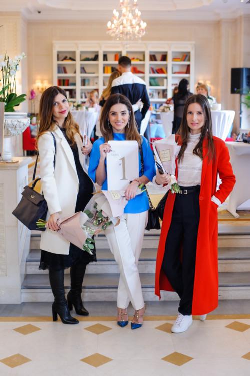 Алина Алиева, Фаина Тадеева и Полина Габович