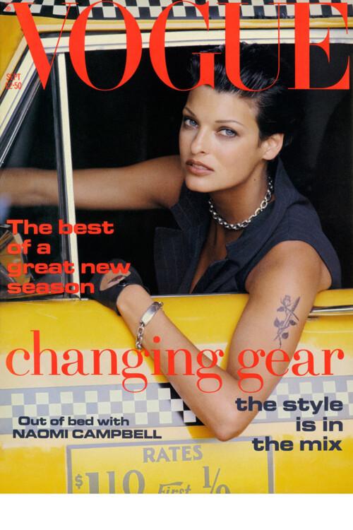 Vogue British, вересень 1992